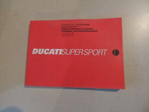 Fahrerhandbuch-Betriebsanleitung-Ducati-750-900-SS-Supersport-1999-owners-manual