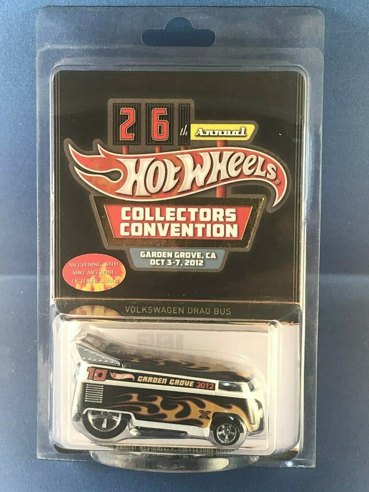 Hot Wheels 26 Coleccionistas Convention Cena VW Volkswagen Drag Autobús