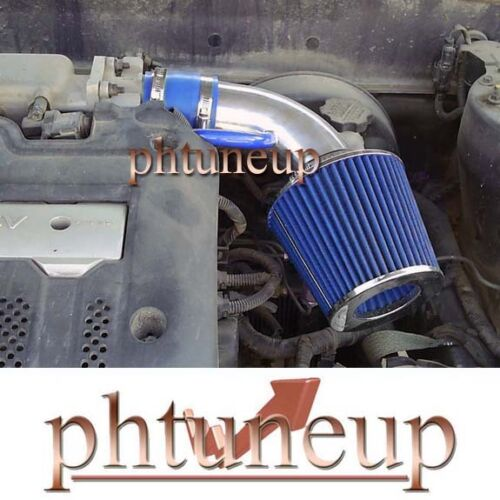 FIT 2001-2003 HYUNDAI ELANTRA 2.0 2.0L RAM AIR INTAKE KIT SYSTEMS BLUE