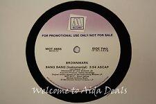 """Brownmark,  Brang Bang (VG) LP 12"""" Promo"""