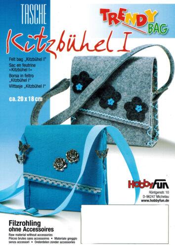 TRENDYbag Tasche Kitzbühel I für Magnetverschluss in verschiedenen Farben