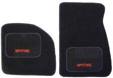 Triumph Spitfire carpet 1962-1980 Black OVERMAT / SLIPMATS, quality, bound edges