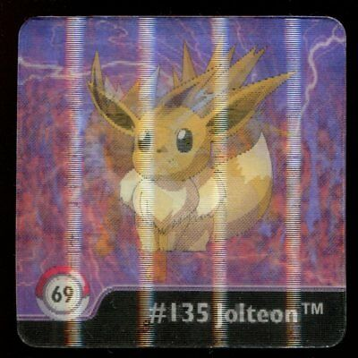 SERIE ONE 3D FLIPZ POKEMON N° 68 #133 134 VAPOREON EEVEE