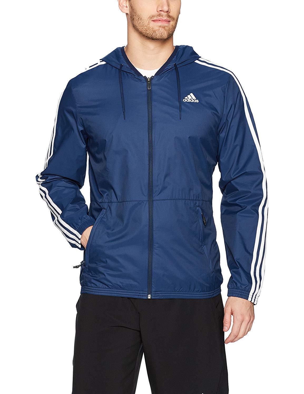 Adidas Essentials Herren Weiß Marineblau Collegiate