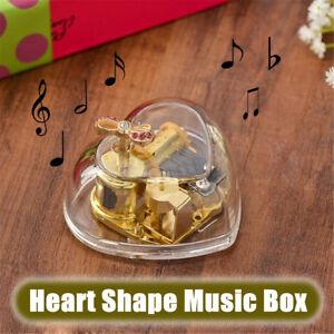 Gorgeous-Heart-Shape-Wind-Up-Music-Box-Birthday-Valentine-039-s-Day-Kids-Girls