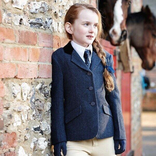Firefoot Haworth Standard Collar Womens Tweed Jackets