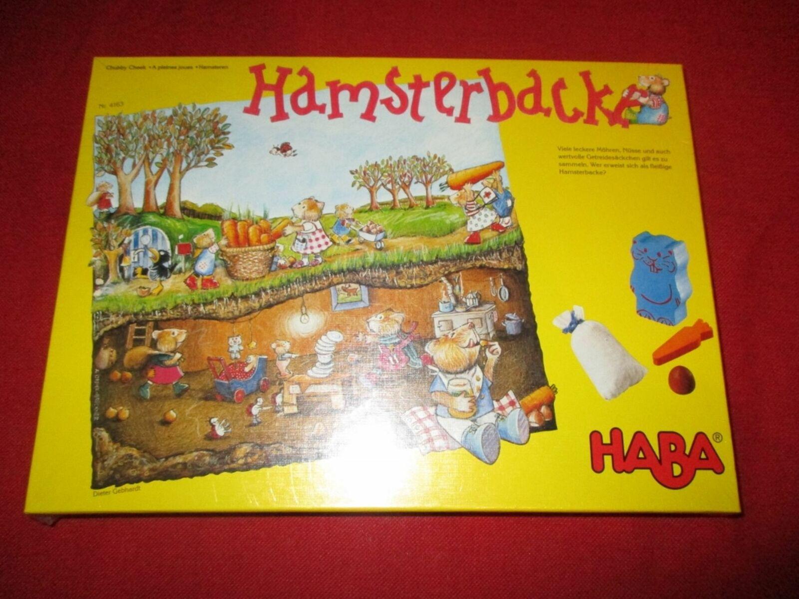 Haba ® 4163 de recogida y juego de dados hamsterbacke nuevo embalaje original