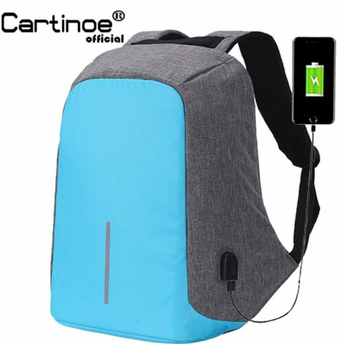 Colorful Laptop Bag Anti Theft Backpack With Usb Charging for School and work