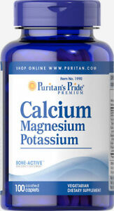 Puritan-039-s-Pride-Calcium-Magnesium-Potassium-100-Caplets