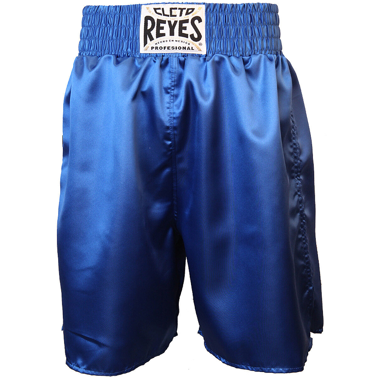 Cleto Reyes Satin Classic Boxing Trunks - bluee