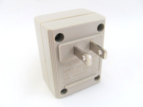 1.2A 125V 150W Philmore 30-10194B Lutron AC Plug-In Dimmer with On//Off Switch