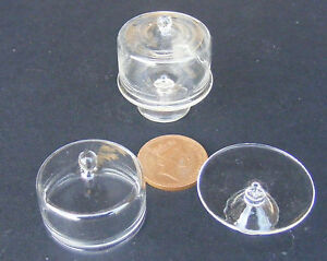 1-12-Scale-Glass-Cake-Stand-3-5cm-With-A-Cover-Tumdee-Dolls-House-Accessory-G20l