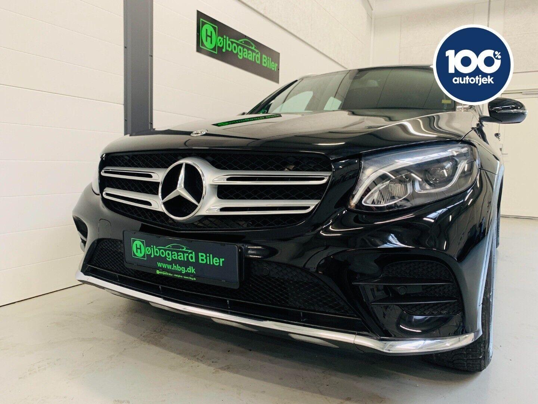 Mercedes GLC220 d 2,2 AMG Line aut. 4-M 5d - 529.800 kr.