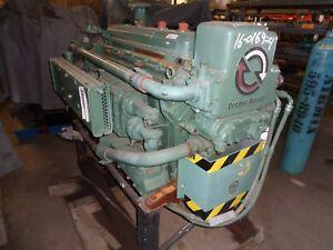 Details about Detroit Diesel 6-71 N Marine Engine # A460954 S/N # 6FA2481  Bellhousing SAE#2