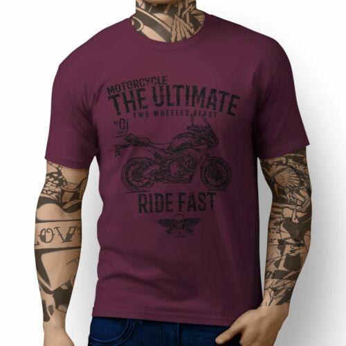 JL Ultimate Illustration For A Yamaha MT09 Tracer Motorbike Fan T-shirt