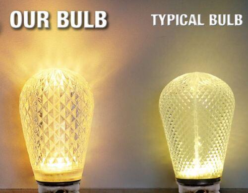 (Pack Of 25) LED S14 Sun Warm White - Medium (E26) Base Light Bulb 11S14