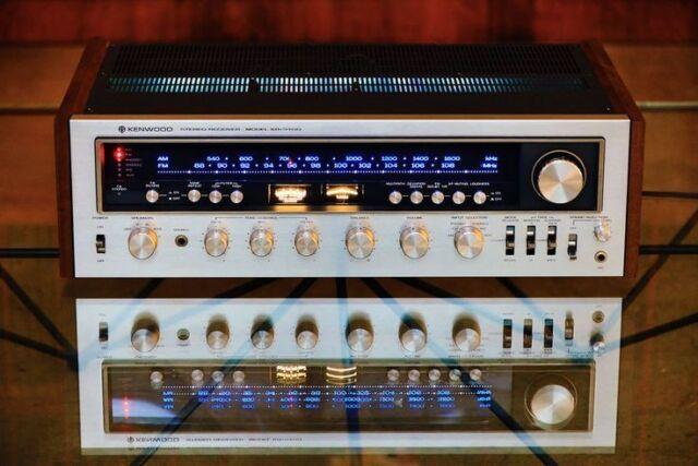 KR-9400 KIT 8V WHITE LEDs RECEIVER (14-LAMPs)METER DIAL Kenwood STEREO VINTAGE
