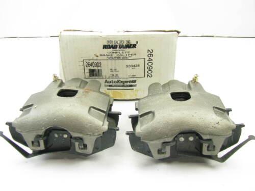 REMAN Ohio Caliper 2640902 FRONT Brake Caliper Set LOADED W// Brake Pads 533435