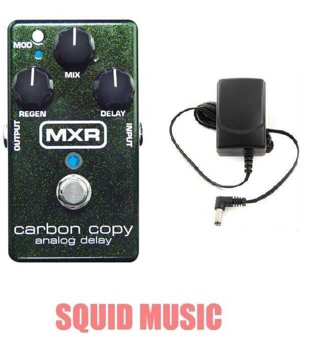 MXR Carbon Copy Analog Delay Guitar Effects Pedal M-169 ( FREE ADAPTER ) M169