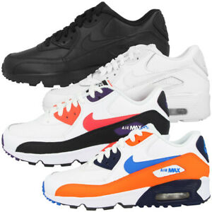Details about Nike Air Max 90 Leather Gs Shoes Women Ladies Casual Trainers Sports Gym Shoes show original title