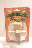 Wooden Brain Bender Puzzle For Ages 8+ Wood Challenge Puzzle Toy