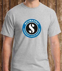 Black T-shirt Scubapro Scuba Equipment Logo Black Tshirt S to 3XL