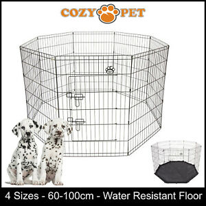 Cozy-Pet-Playpen-Dog-Rabbit-Puppy-Play-Pen-Cage-Folding-Run-Fence-crate-Guinea