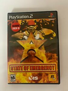 State Of Emergency Play Station 2 Used Game A07