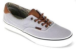 VANS-Retro-Silver-Sconce-Stripe-Denim-Canvas-Shoes-UK7-EU40-5-LG02-63-SALEs
