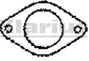 Klarius Zwei-Polig Auspuffdichtung FDG29 für Verschiedene Ford Nissan Rover