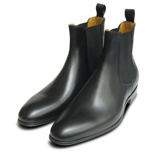 Chelsea Boots Leather Black Men For 5qT8xBw