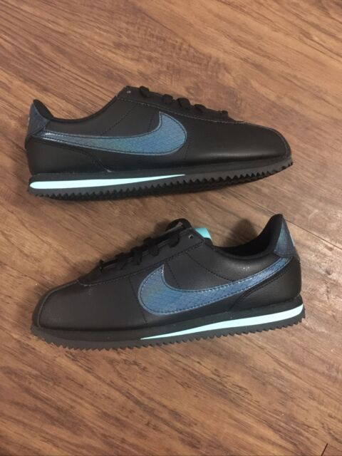 Nike Cortez Dragon (gs) Big Kids Bq4687-001 size 5Y/Women's 6.5 Black