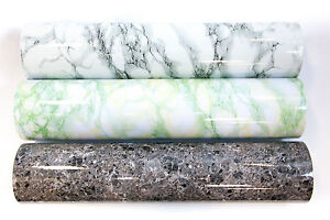 Marble Effect Pvc Self Adhesive Vinyl Furniture Sticker