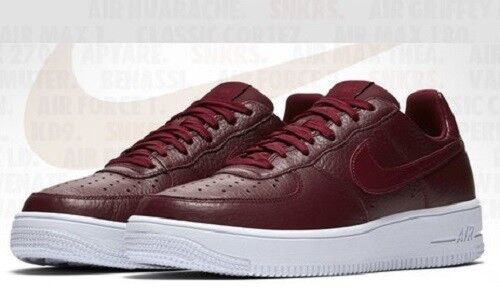 NIKE AIR FORCE 1 ULTRAFORCE LO SNEAKER MEN SHOES TEAM RED 818735-603 SIZE 11 NEW