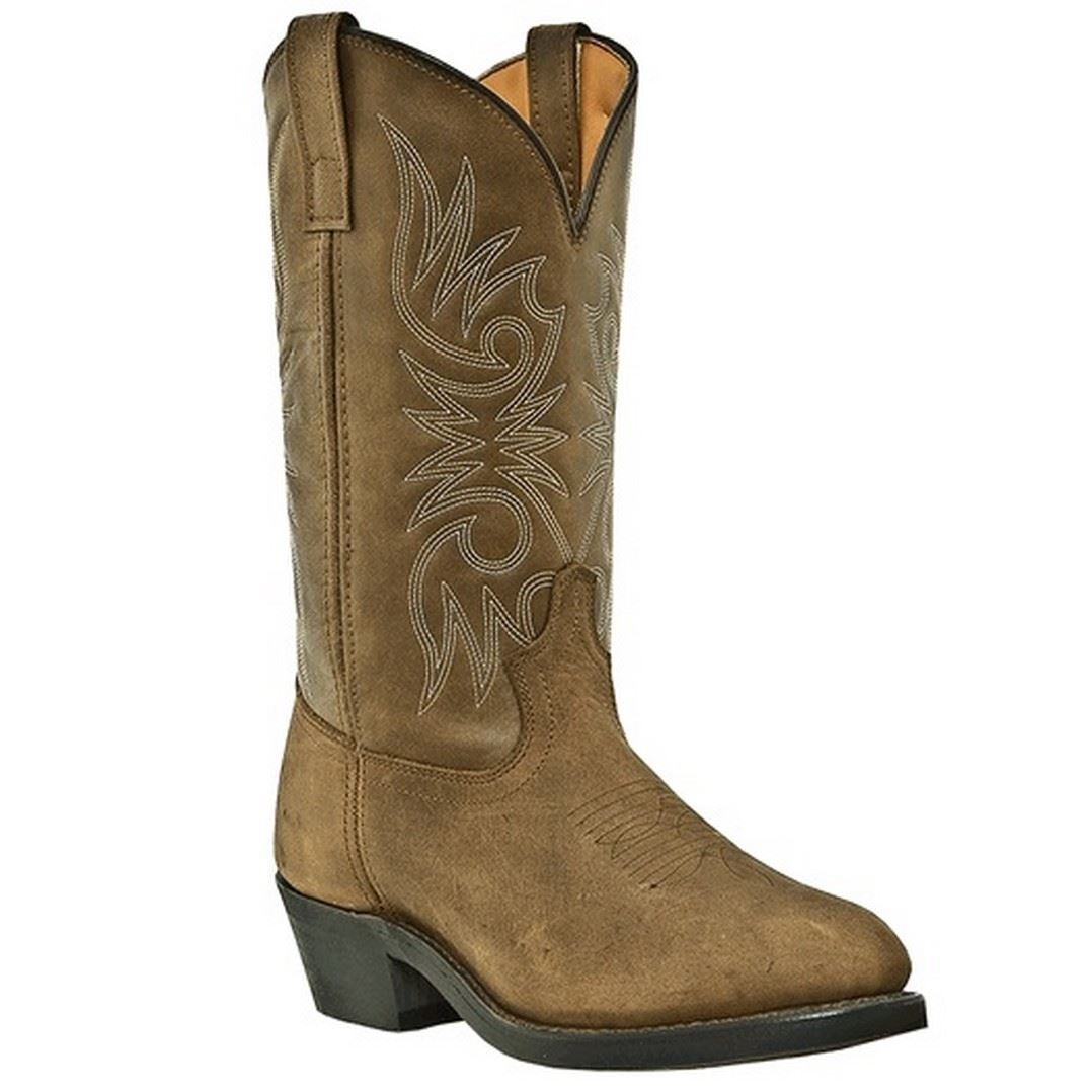 Laredo 4242 Paris Mens Tan Distressed 12  Western Boots