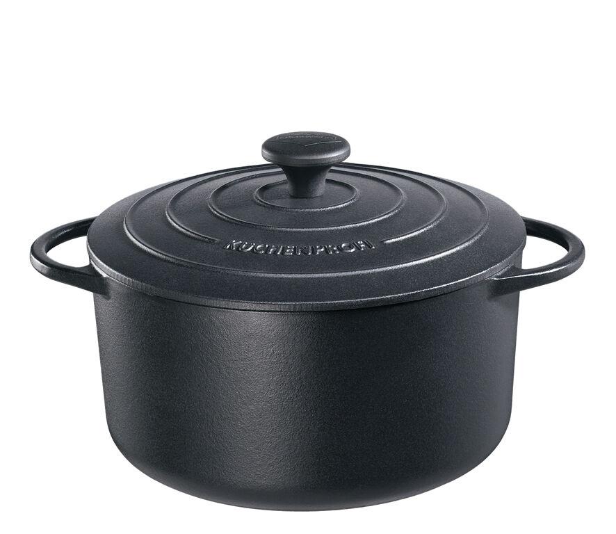 Küchenprofi - PROVENZA - arrougeondato Frittura pentola, 22cm - noir