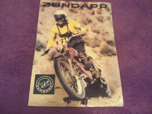 $7.50 1970 Zundapp Enduro 125cc  factory original sales brochure Reprint