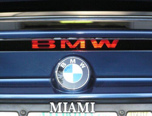 BMW 3-Series M3 323ci 325ci 328ci 330ci 3rd brake light decal 00 01 02 03 04 05