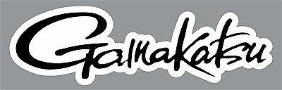 "2"" Gamakatsu High Quality Decal Sticker Tackle Box Fishing Boat Trailer Hooks"