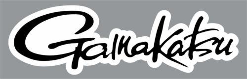 "2/"" Gamakatsu High Quality Decal Sticker Tackle Box Fishing Boat Trailer Hooks"
