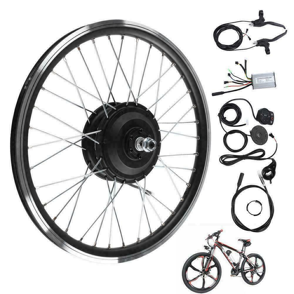 36V48V 350W 700C Motor rueda Electric Bicycle EBike Conversion Kit Cycling Set