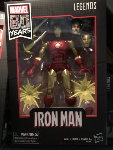 MARVEL LEGENDS 80th Anniversary IRON MAN Sealed New US SELLER *in Hand*