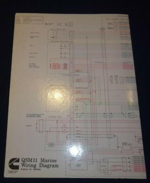Cummins Qsm11 Marine Engine Wiring Diagram Schematic Manual 3666468