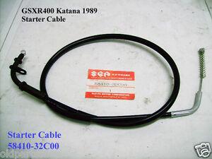 GSX550 # 58410-43503 NOS SUZUKI STARTER CABLE ASSY