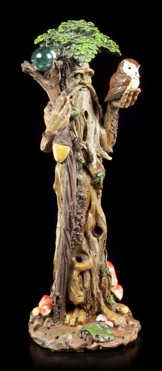 SPIRITO DEL BOSCO Figura Figura Figura - In Piedi con gufo - FANTASY DELL'ALBERO NATURA MAGICO 0e1950