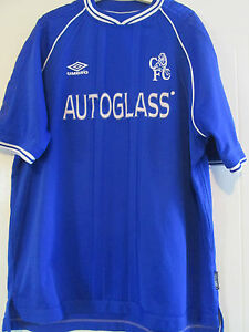 987b16db3d2 Chelsea 1999-2001 Home Football Shirt Size Adult Extra Extra Large ...