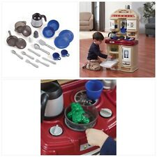 Step2 Cozy Kitchen For Kids With 21 Accessory Set For Sale Online Ebay