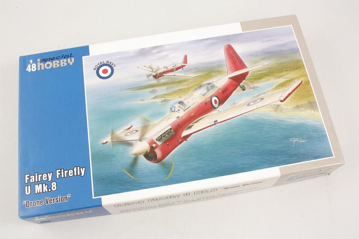 Special Hobby SH48166 Fairey Firefly U Mk.8 Drone Vert 1 48 modélisme static