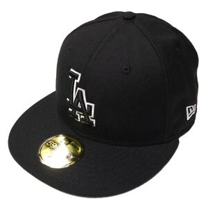 newest collection f0edd 6fd5d Image is loading New-Era-MLB-Los-Angeles-Dodgers-Basic-Black-