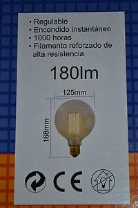 Avoir Un Esprit De Recherche Lampe Globe Décorative / Filament Métallique 40w - E27 - E255040d - Halotec Avec Des MéThodes Traditionnelles